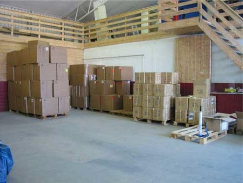 Ledige kontorlokaler i Sandefjord hoveddlager